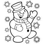 Christmas coloring sheets free