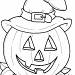 Coloring pages for halloween printable
