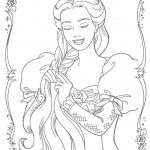 Disney princess for coloring