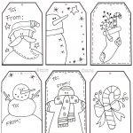 Free christmas coloring printables