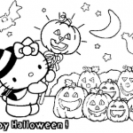 Free halloween coloring pages for kids printable