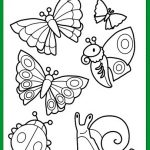 Free printable spring coloring pictures