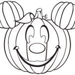 Halloween color sheets printable
