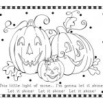 Halloween printables coloring