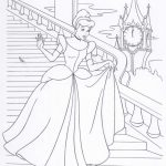 Princess coloring page to print