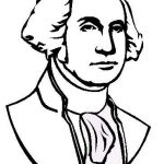 George washington pictures to color