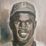 How to draw jackie robinson