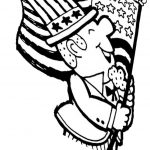 United states flag coloring pages for kids