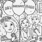 American girl colouring page