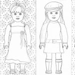 American girl printable coloring pages