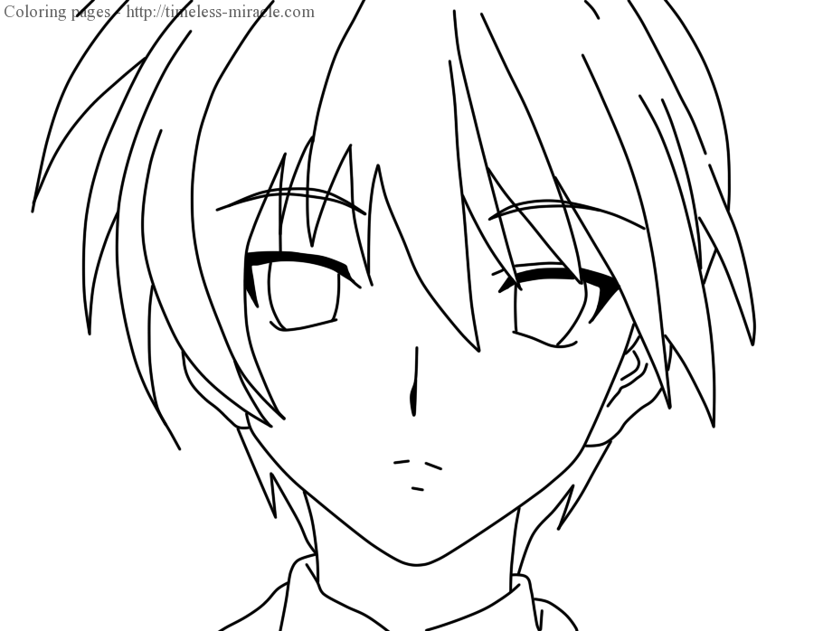 Anime Coloring Book Online | Haramiran | 698x910