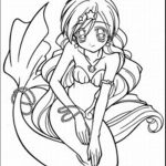 Anime coloring page