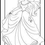 Ariel princess coloring pages