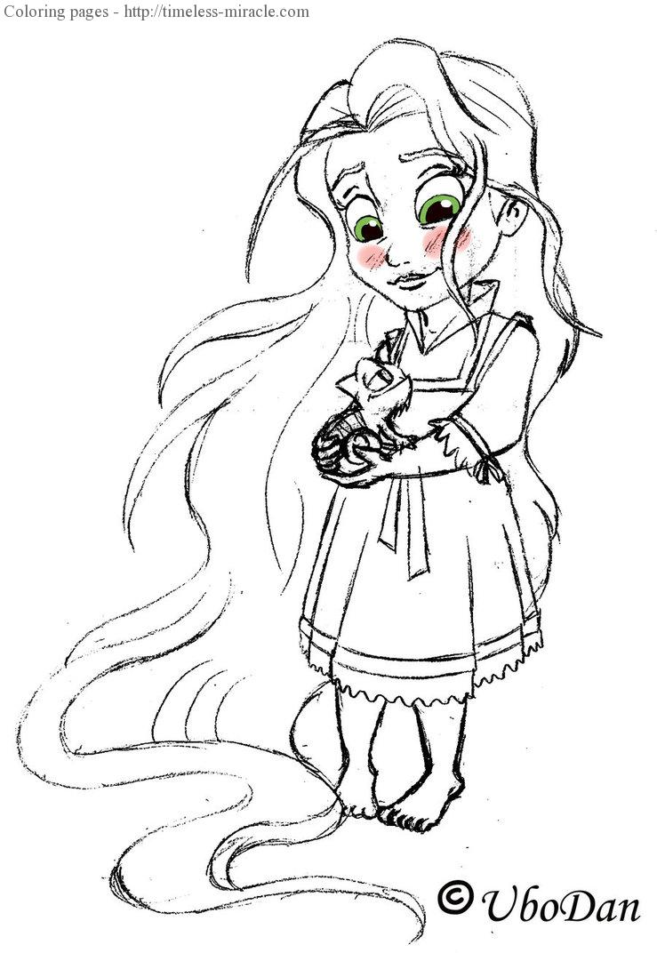 - Baby Disney Princess Colouring Page - Timeless-miracle.com