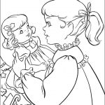 Coloring pages american girl