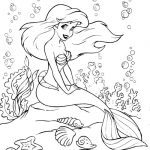 Coloring pages of ariel