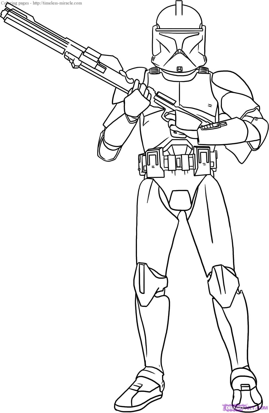 Coloring pages of star wars - timeless-miracle.com