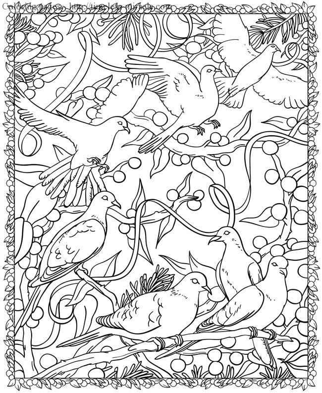 Dover Publications Free Coloring Pages - Timeless-miracle.com
