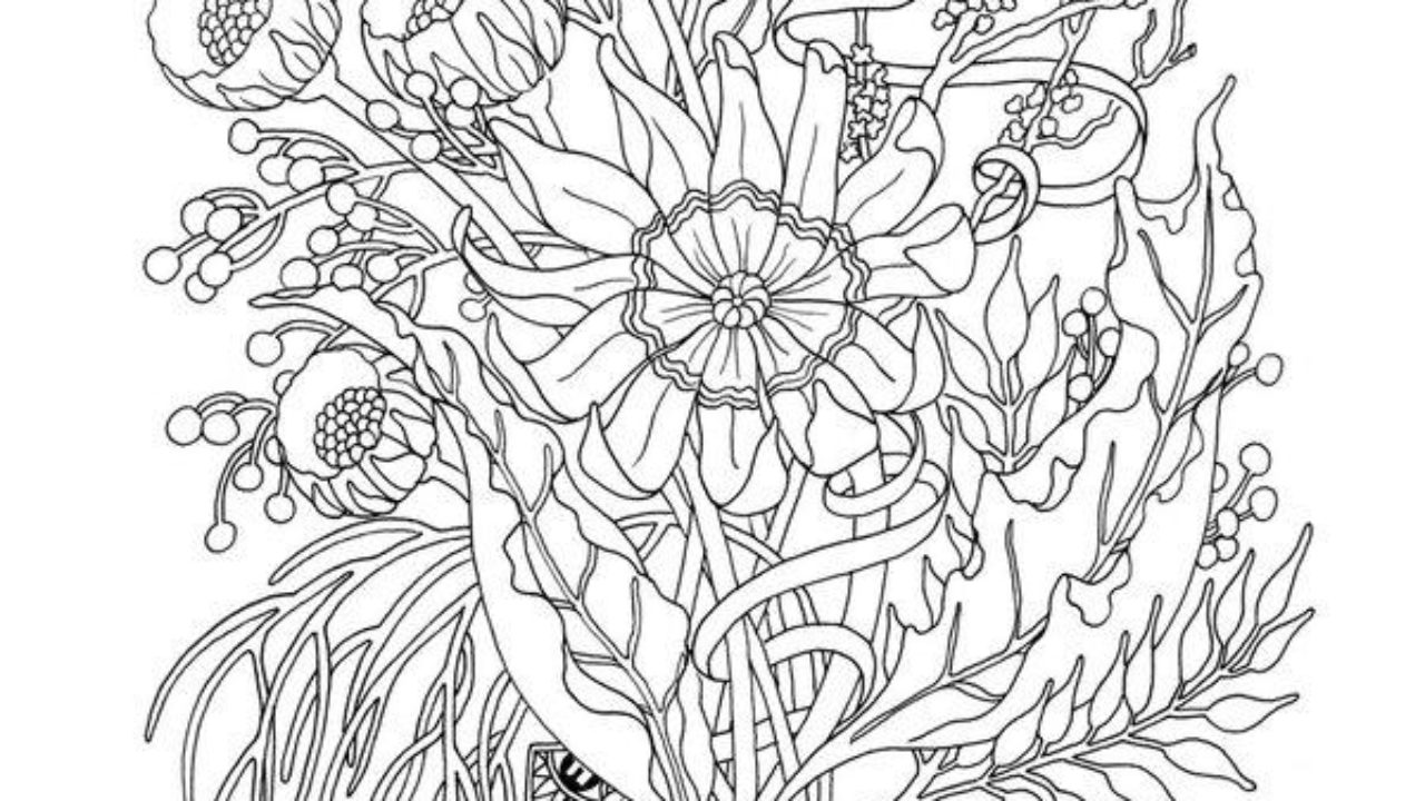 - Downloadable Coloring Pages For Adults - Timeless-miracle.com