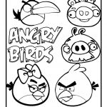 Free angry bird coloring pages