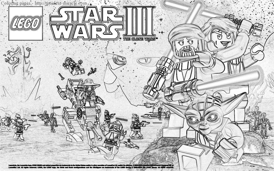 - Lego Star Wars Coloring Pages To Print - Timeless-miracle.com
