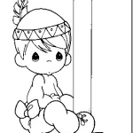 Precious moments alphabet coloring pages