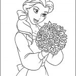 Princess disney coloring page