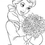 Printable coloring page disney