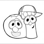 Veggie tales coloring pages printable
