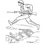 World war 1 coloring pages