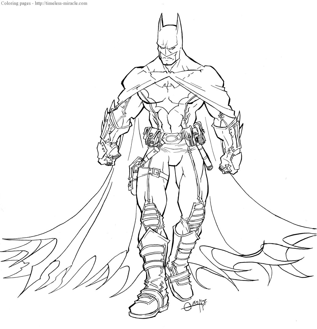 Batman and robin coloring pages Photo - 11 - timeless ...