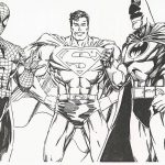 Batman and superman coloring pages