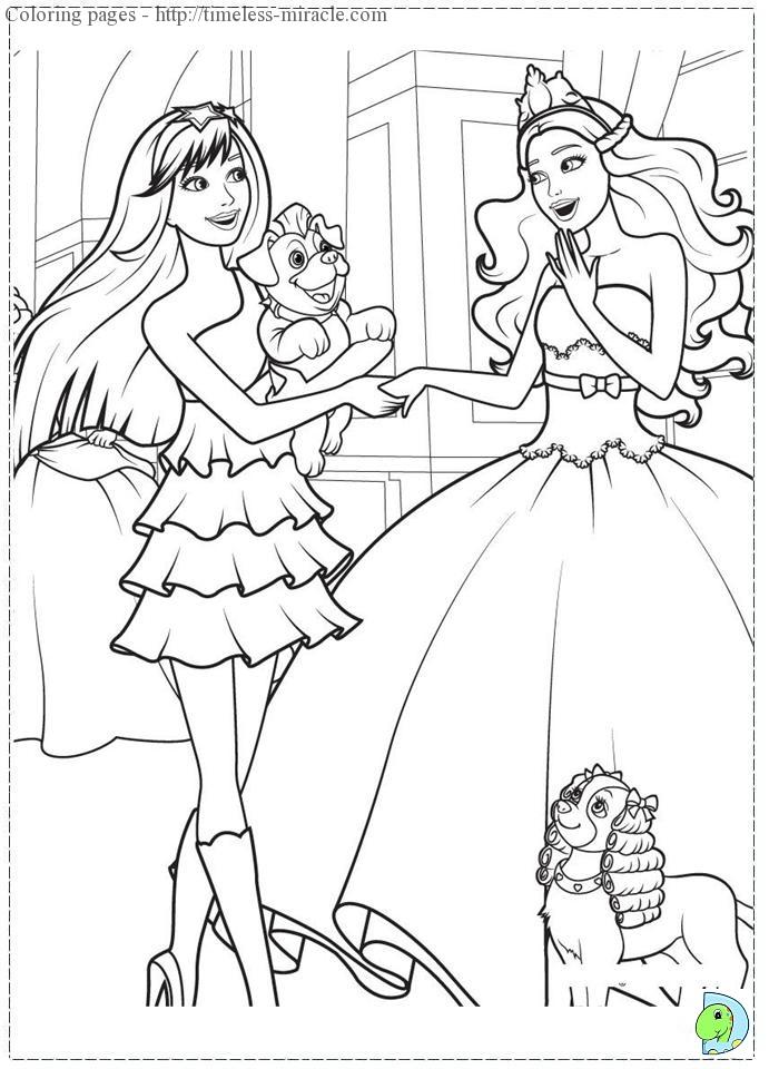 Disney princes colour pages