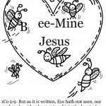 Coloring page for valentines