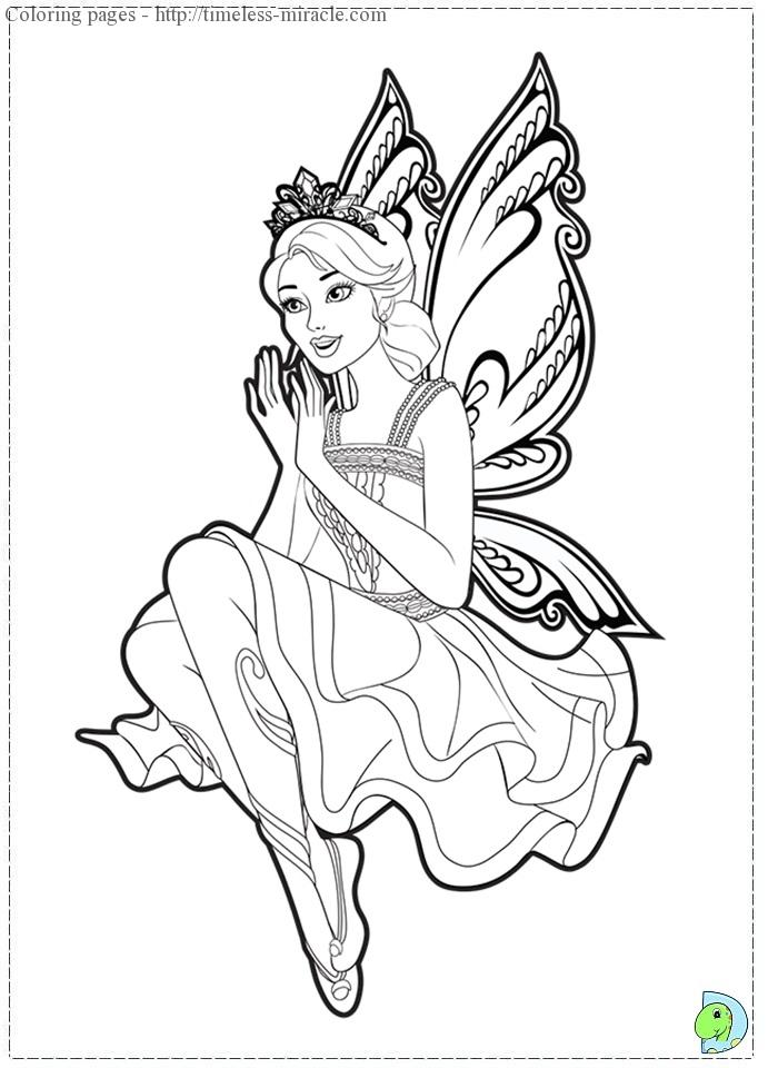 farytale princess coloring pages - photo#6