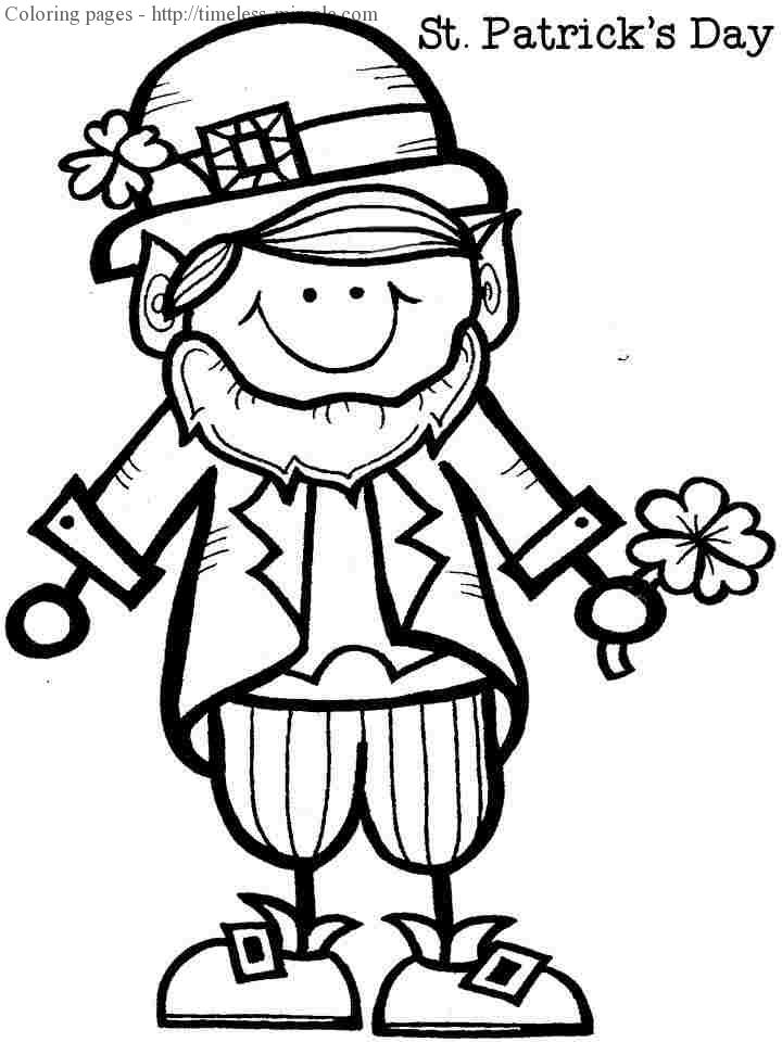 Leprechaun Coloring Pages - Best Coloring Pages For Kids | 960x720
