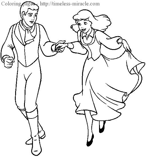 Prince charming coloring pages Photo - 17 - timeless ...