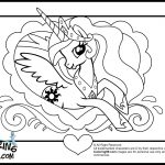 Princess pony coloring pages