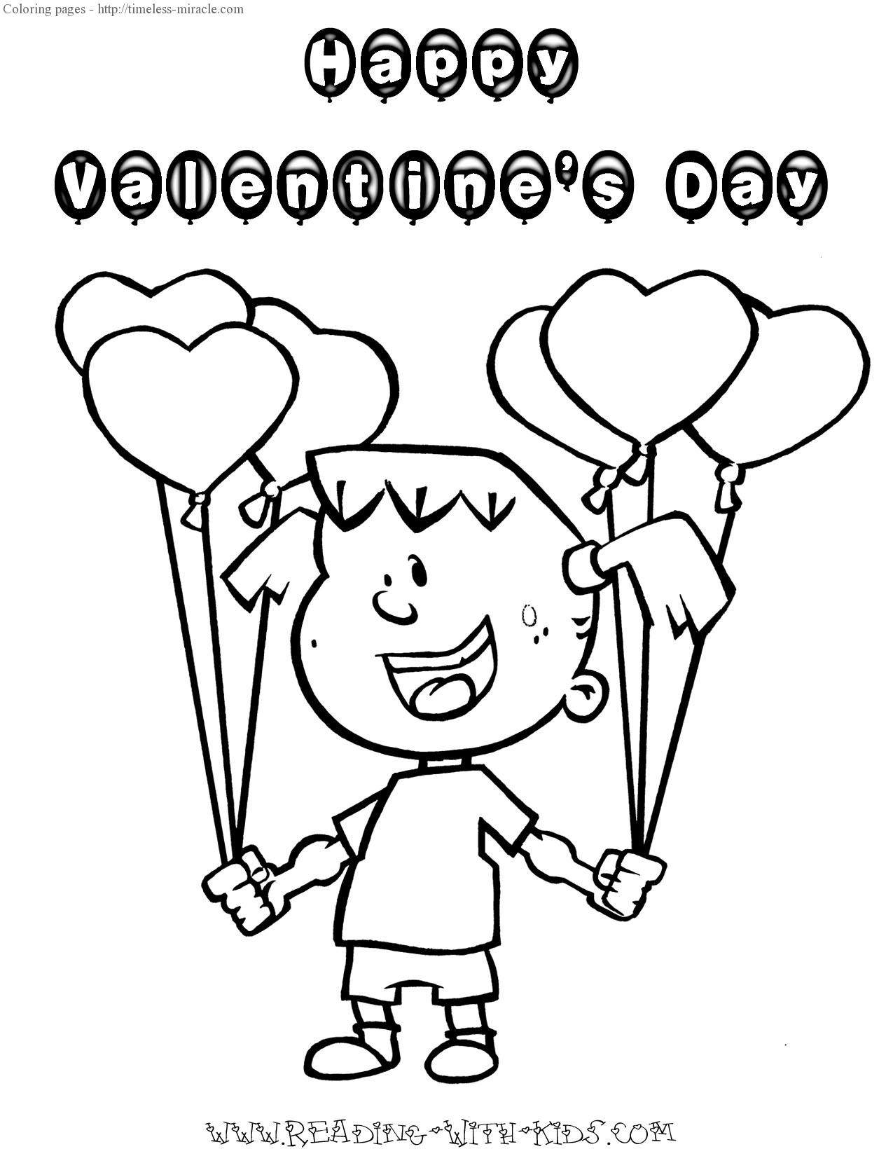 Charlie Brown and Valentines Day coloring pages for kids ... | 1650x1275