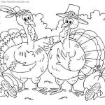 Thanksgiving color sheet to print