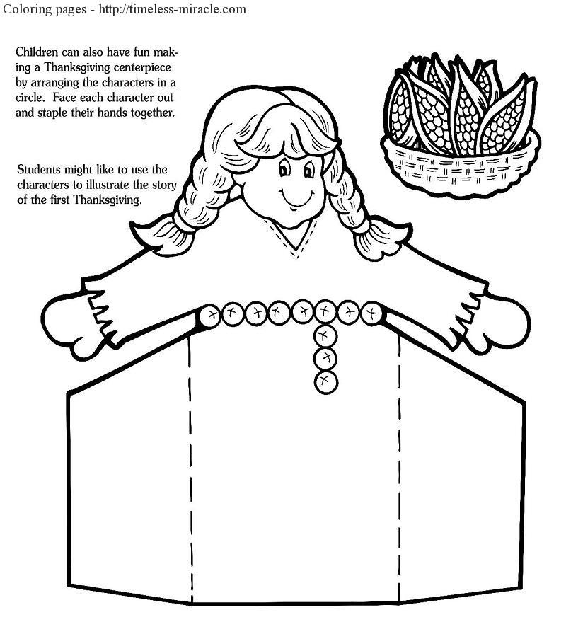 First Thanksgiving Coloring Page | Thanksgiving coloring pages ... | 903x800