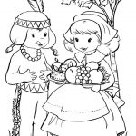 Thanksgiving coloring sheet free printables
