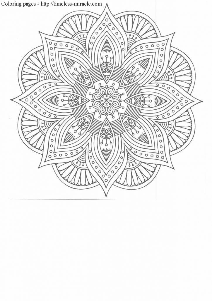 coloring page of a flower
