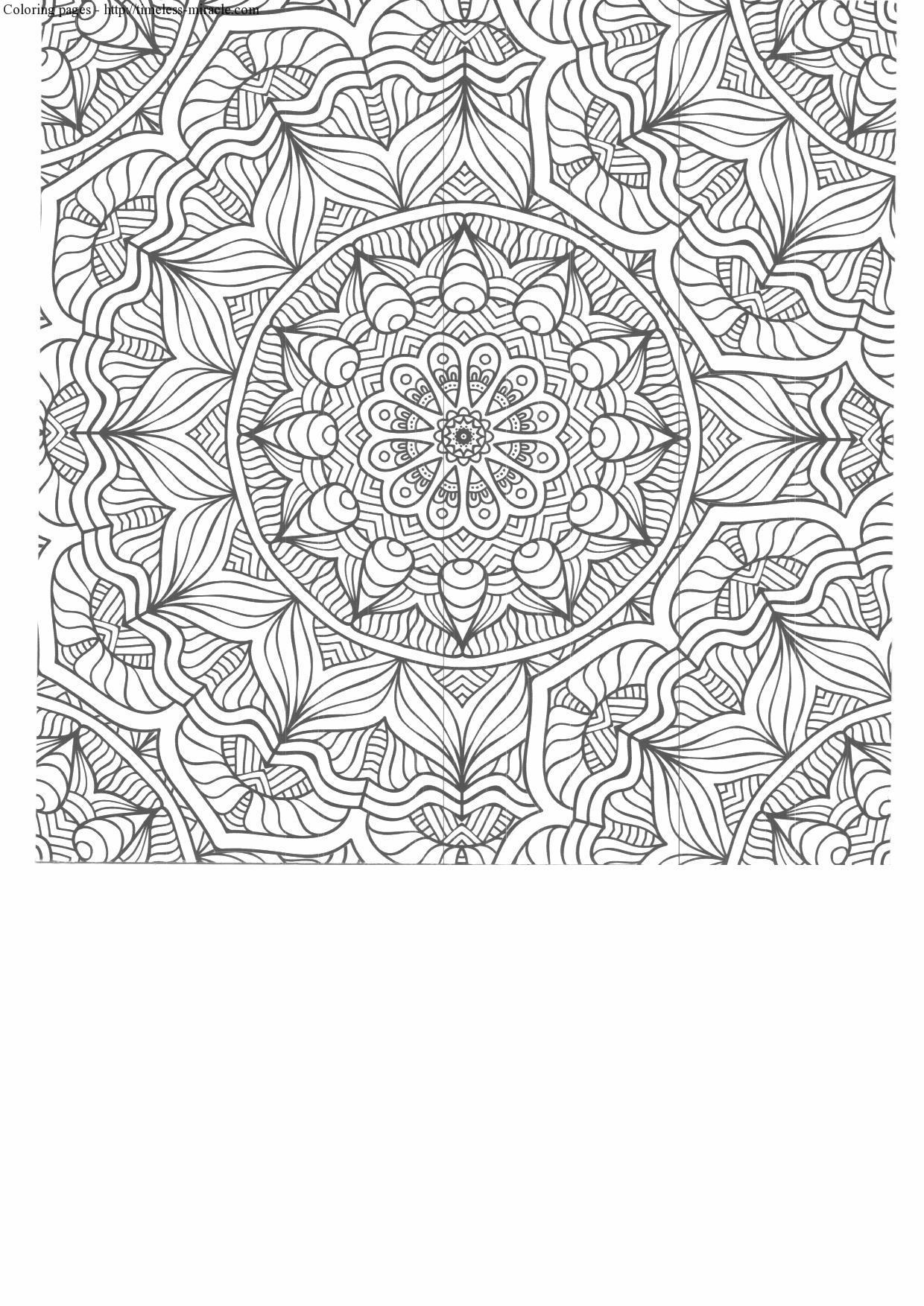 High Quality Coloring Pages For Adults Timeless Miracle Com