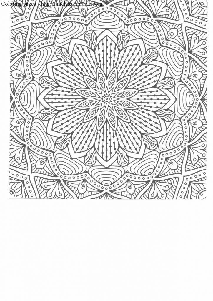 intricate coloring pages for adults printables