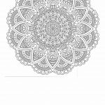 Printable anti stress coloring page for adults