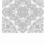 Free anti stress coloring page for adults