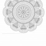 Anti stress coloring page for adults