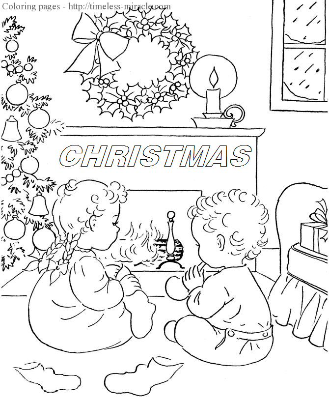 Christmas coloring pages Christmas  coloring page free (printables)