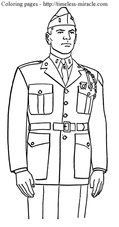 Coloring page for veterans day Veterans day  coloring page free (printables)